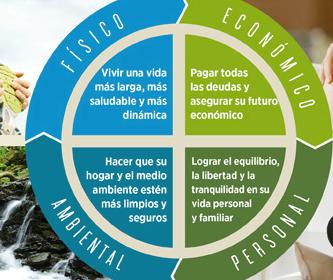 4 areas del bienestar