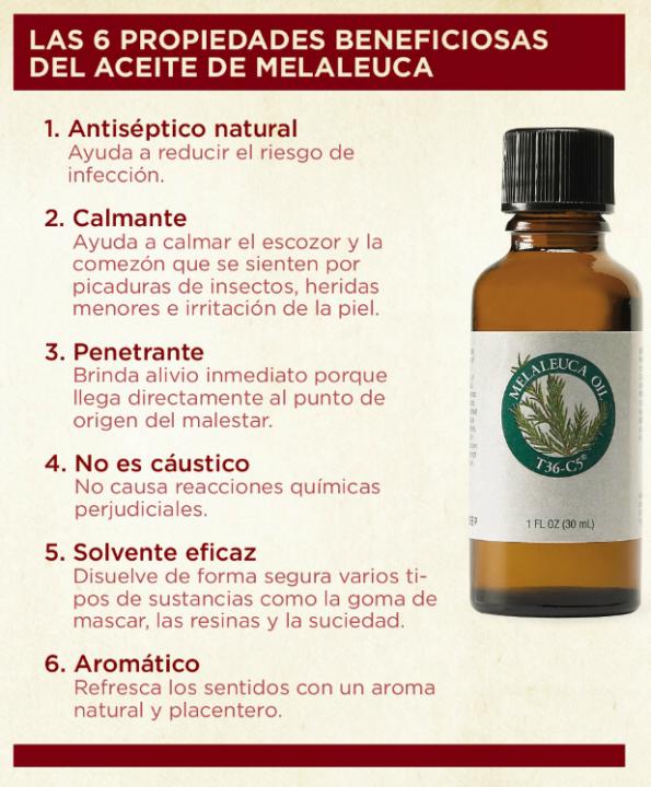Aceite de Melaleuca